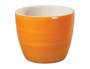 Obal PRIMUS AQUAREL d13cm/oranžový lesk/