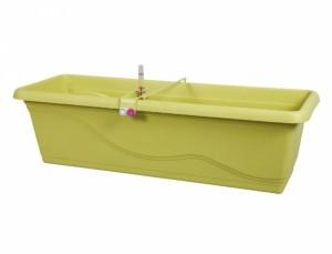 Truhlík samozavlažovací EXTRA LINE SMART 80cm/zelený/