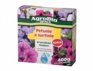 Hnojivo kryštalické PETUNIE A SURFINIE 400g