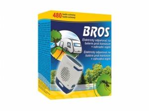 BROS-elektrický odpařovač x komárům/na bat/+vkl+2ks bat/