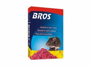 BROS-granule na myši, potkany a potkany 100g