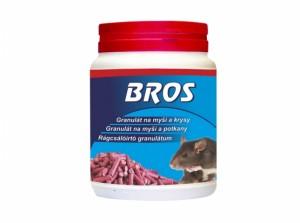 BROS-granule na myši, potkany a potkany 500g/dóza