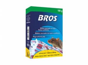BROS-mäkká návnada na myši, potkany a potk.100g