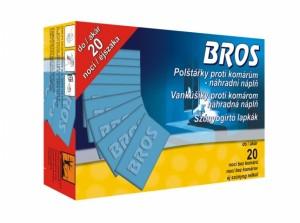 BROS-náhradní náplň do elektrický odpařovač/polštářky/20ks