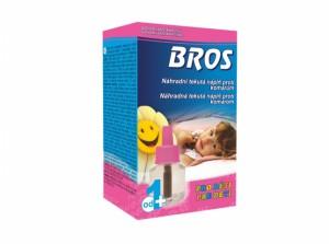 BROS-náhradní náplň do elektrický odpařovač /tekutá/děti/60nocí