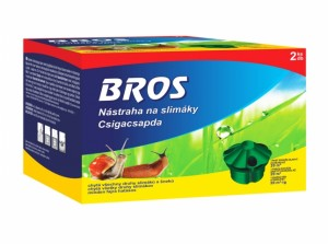 BROS-náhradní náplň do nástrahy na slimáky 5ml