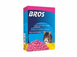 BROS-obilné vločky na myši, potkany a potkany 50g