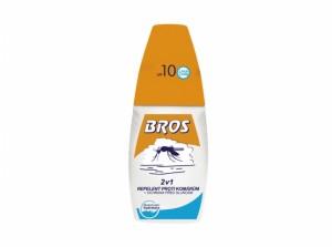 BROS-repelent proti komárům/+slunce/2v1/50ml