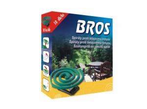 BROS-spirály proti komárům 10ks