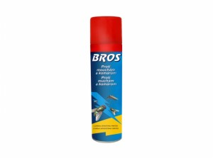 BROS-spray proti muchám a komárom 400 ml
