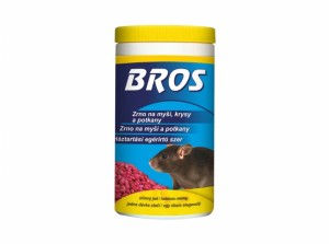 BROS-zrno na myši, krysy a potkany 300g
