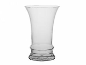 Váza TULIP d8x12h/sklo