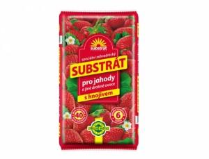 Substrát pre jahody a drobné ovocie 40l