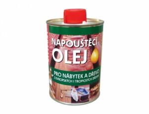 Olej napouštěcí NÁBYTEK a DŘEVO 500ml/přírodní