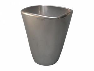 Obal VANDA ELEGANT 14x14cm/stříbrný/lesk