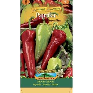 Paprika zelená skorá kapie semien