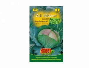 Zelí hlávkové pozdní krouhárenské Pourovo pozdní 100 semen