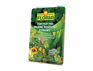 Substrát pre zelené rastliny a palmy FLORIA 10L