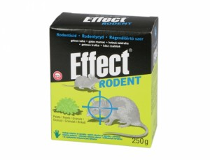 Effect rodent 250g granule
