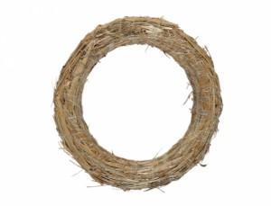 Slámový kruh d23/3cm/sláma/