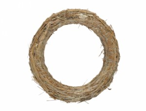 Slámový kruh d25/4cm/sláma/