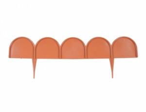 Obruba IKRA 20ks 10m terakota