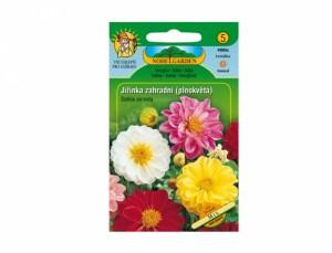 Jiřinka záhradné plnokvetá Mix 70 semien