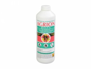Agrion - postrek proti škodcom