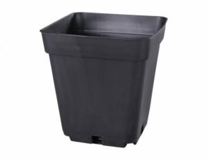 Plastový kontajner, 13x13x13 cm