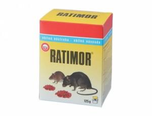 Ratimor 125g zrno - na hubenie hlodavcov