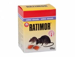 Ratimor 125g návnada na hubenie myší