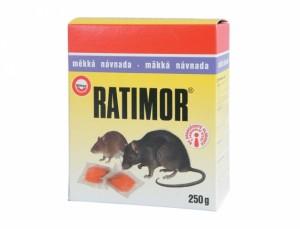 Ratimor 250g návnada na hubenie myší