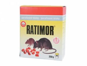 Ratimor 250g - bloky k hubení hlodavců