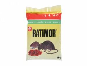 Ratimor 500g na hubenie hlodavcov