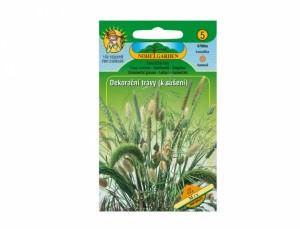 Dekorační trávy k sušení Mix 0,8g semen