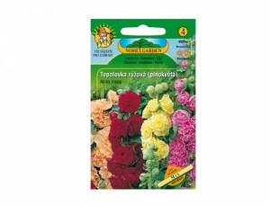 Topolovka růžová plnokvětá 40 semen