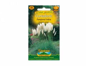Semená Pampová tráva Cortaderia selloana biela