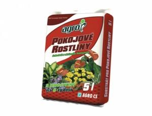 Substrát pre izbové rastliny, 5l - Agro