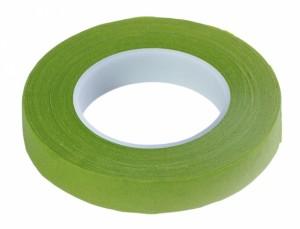 Páska ovinovací na květiny 2ks, 1,3cm - sv. zelená