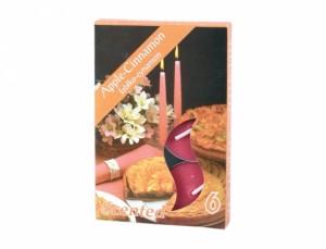 Čajová sviečka s vôňou 6ks (škorica)