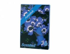 Čajová sviečka s vôňou 6ks (proti zápachu tabaku)