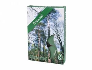 Čajová sviečka s vôňou 6ks (vůně lesa)