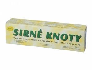 Knôty sírne 400g/80ks/18x4cm /