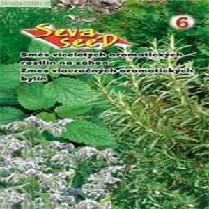 Zmes jednoročných aromatických rastlín - na záhon - semená 2 g